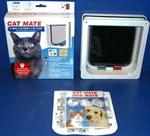 Cat Mate 4 Way Locking Cat Door With Liner