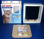 Cat Mate 4 Way Locking Cat Door For Medium to Large Cats