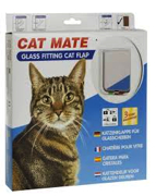 Cat Mate Glass Fitting Cat Door