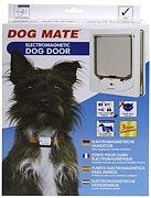 Dog Mate Electromagnetic Dog Door For Small Dogs